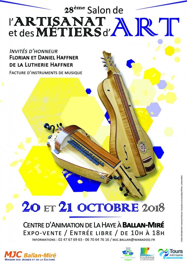 Affiche - Salon de lArtisanat et des Métiers dArt 2018